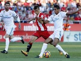 Le Real Madrid est à huit points du Barça. EFE