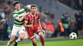 Kieran Tierney could be on the verge of joining Arsenal. EFE/Archivo