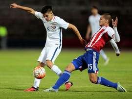 El fútbol paraguayo tiene en Bogarín y González a dos prometedores goleadores. EFE