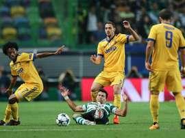 Acuña já defrontou a Juve nesta temporada. EFE