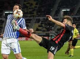 Vardar y Real vuelven a enfrentarse en la Europa League. EFE