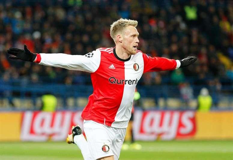 El Feyenoord aplastó por 0-7 al Sparta de Rotterdam. EFE