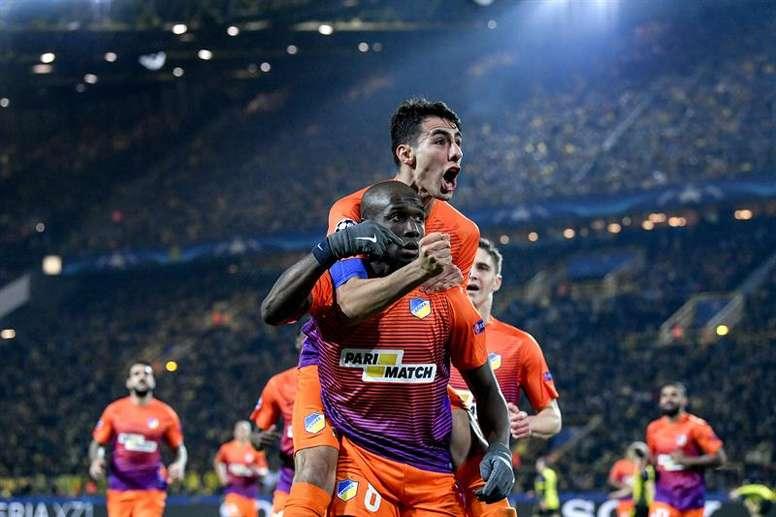 El APOEL ha sufrido más de la cuenta para ganar en esta jornada. EFE/Archivo