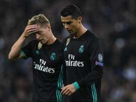 Kroos fez revelação sobre os churrascos de Cristiano Ronaldo. EFE