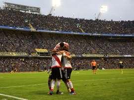 Enzo Díaz se coló en los planes de River Plate. EFE/Archivo