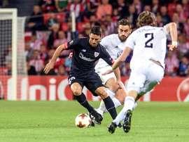 El técnico del equipo sueco reconoció el buen hacer del Athletic. EFE