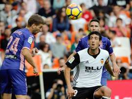 Valencia are still unbeaten in the league this season. AFP
