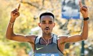 En la imagen, el atleta de Eritrea Ghirmay Ghebreslassie. EFE/Archivo