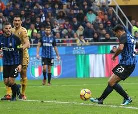 Inter de Milão e Torino empataram, em 1-1. EFE