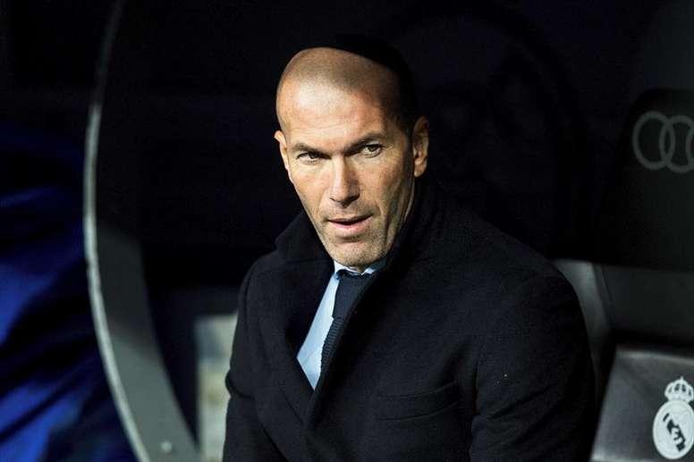 Zidane tiene un problema. EFE