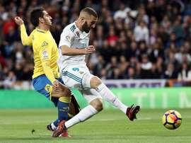 Na 1ª volta ficou 3-0, no Bernabéu. EFE