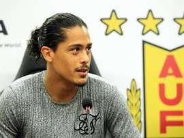 Lemos jugará con Uruguay por la lesión de Coates. EFE/Archivo