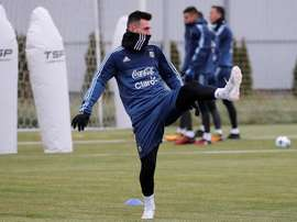 Jogo da Argentina com Israel foi cancelado. EFE