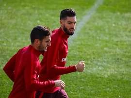 Carrasco negotiating move to China, says Atletico president. EFE