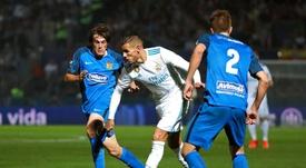 Real Madrid won the first leg 2-0. EFE/Archivo