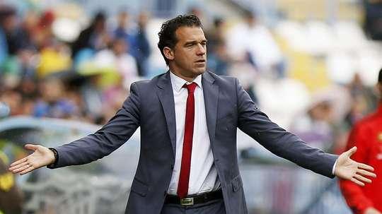 El técnico dejó bonitas palabras para el club 'granota'. EFE