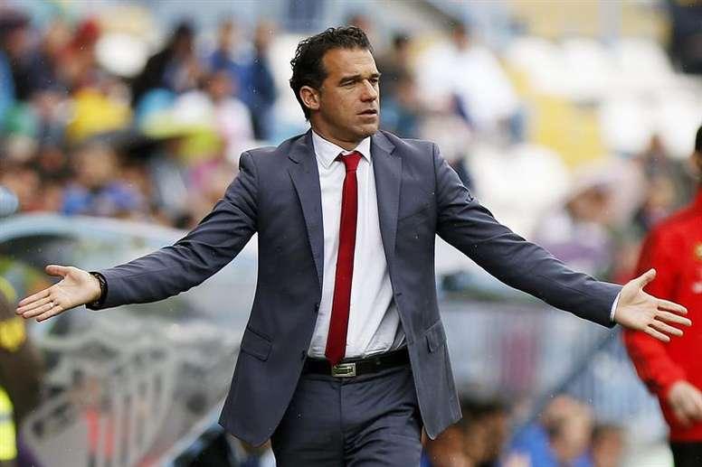 Luis García negó que le ofrecieran dinero en el vestuario. EFE