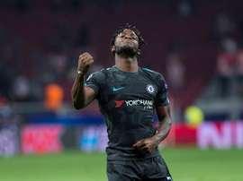 Batshuayi fell out of favour under Antonio Conte. EFE