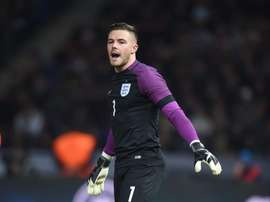 Jack Butland on England duty. EFE
