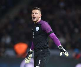 Jack Butland is England's number two. AFP