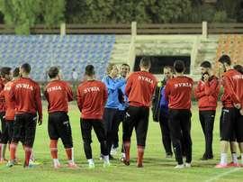 Siria ha tratado de olvidar los problemas del país con el fútbol. EFE