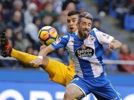 Luisinho repasó la derrota ante la Real. EFE/Archivo