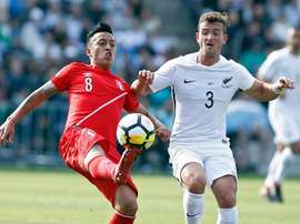 Peru were held to a draw against New Zealand. EFE