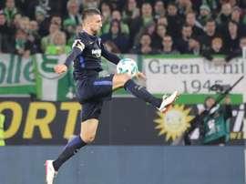 O bósnio foi essencial na obtenção dos três pontos por parte do Hertha BSC. EFE/Archivo