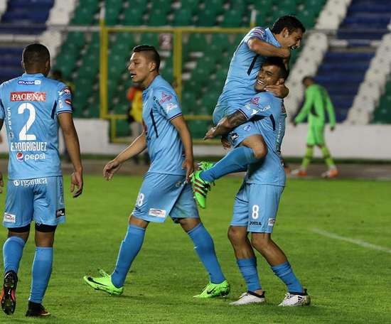 Bolívar ganó a Real Potosí por 1-0. EFE/Archivo