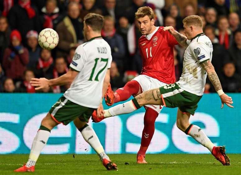 Stephen Ward deja la Selección de Irlanda. EFE