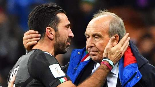 Gian Piero Ventura was sacked after the World Cup debacle. EFE