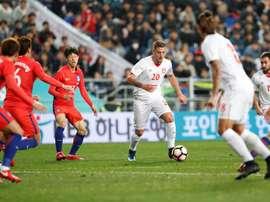 Corea ganó a Colombia y empató ante Serbia. EFE