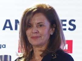 Victoria Pavón dirige el Leganés desde 2008. EFE/Archivo