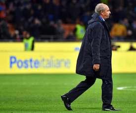 Gian Piero Ventura ha sido oficialmente cesado por el Chievo. EFE/Archivo