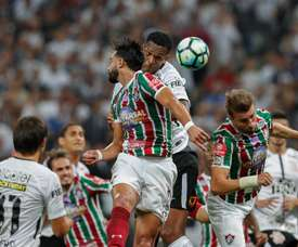 No topo da artilharia há disputa entre Corinthians e Fluminense. EFE