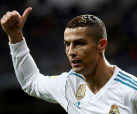 Ronaldo found the net twice in the second half. EFE/Archivo
