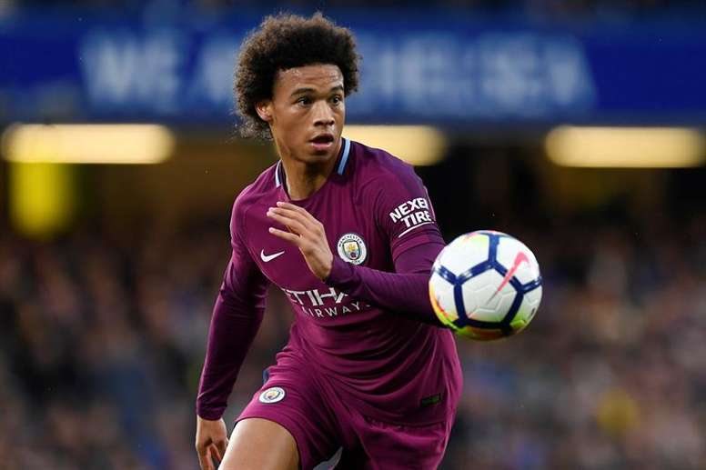 Sane insists that he is not one of the world's best quite yet. EFE/Archivo
