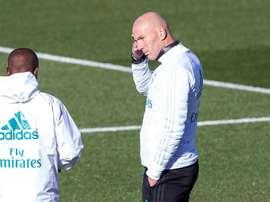 Zidane va certainement faire tourner ce mardi. EFE