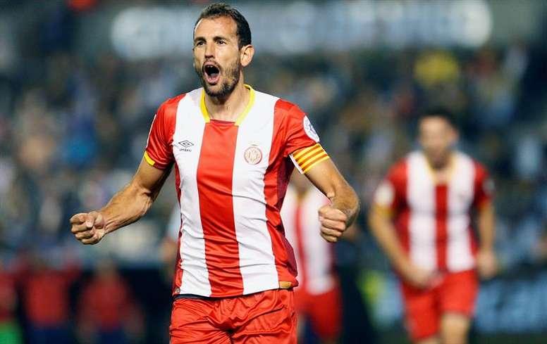 El Girona se lleva los tres puntos ante Las Palmas. EFE/Archivo