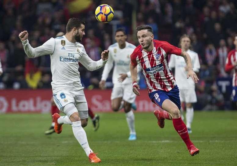 Real Madrid y Atlético se enfrentarán el 8 de abril en el Bernabéu. EFE