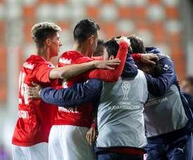Independiente se llevó el triunfo. EFE