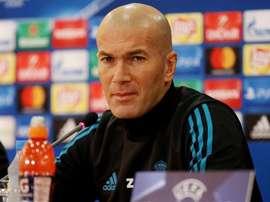 Zidane promete dar chances aos mais jovens. EFE