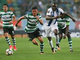 El Sporting de Lisboa espera un nuevo refuerzo para su zaga. EFE/Archivo