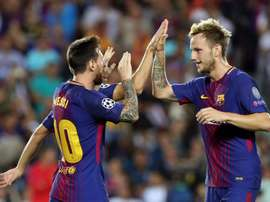 Rakitic was shocked at Messi's snub by FIFA. EFE/Archivo