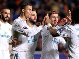 Le Real Madrid remporte son match. EFE