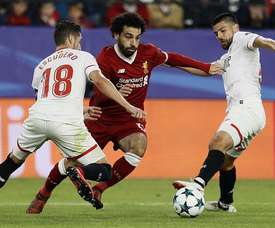 Liverpool and Sevilla played out a thrilling 3-3 draw at the Ramon Sanchez Pizjuan. EFE