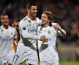 Modric did not think the Portuguese would leave. EFE