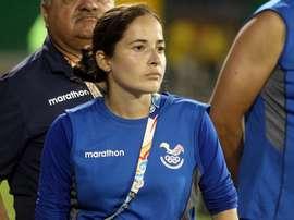 La seleccionadora ecuatoriana analizó la actualidad de la selección. EFE