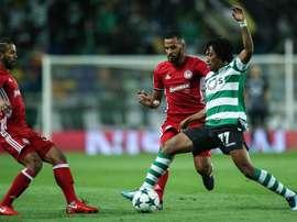 Importante triunfo del Sporting de Lisboa. EFE