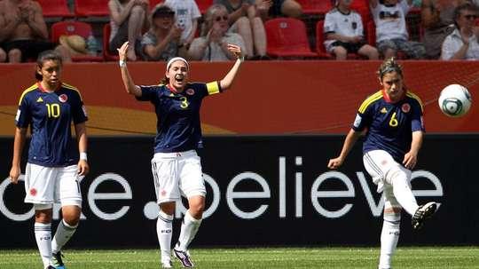 Gaitán afirmó que en su país el trato a la mujer futbolista es peor que en España. EFE